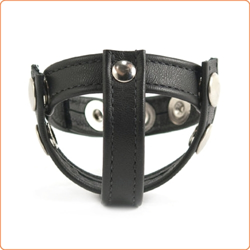 Strict leather speed snap cock ball ring
